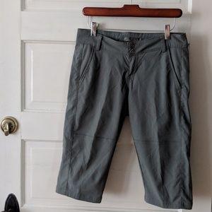 Prana Breathe Gray Capri Pants - 2